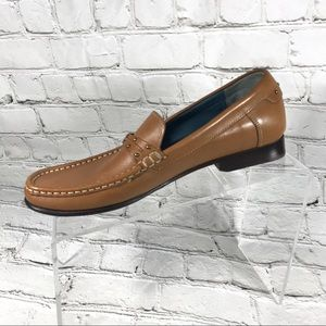 Cole haan brown leather loafers 7.5 AA